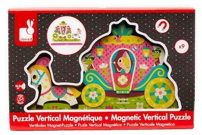 Janod Magnetic Vertical Puzzle