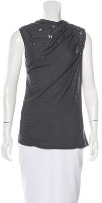 Rachel Roy Embellished Sleeveless Top $75 thestylecure.com