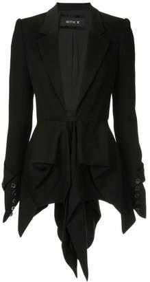 Kitx draped tails jacket