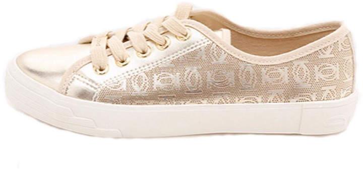 BEBE Dane Gold Sneaker