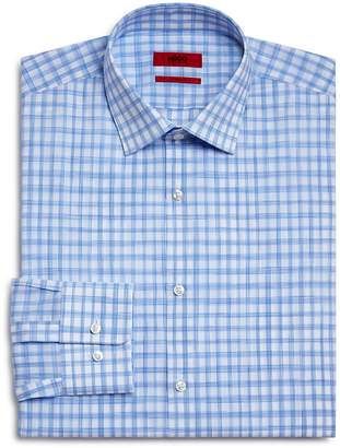 HUGO Brush Check Regular Fit Dress Shirt