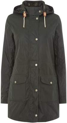 Barbour Selsey Long Hooded Wax Jacket