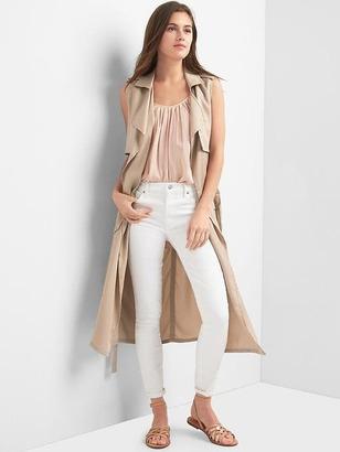 Tencel® trench vest $98 thestylecure.com