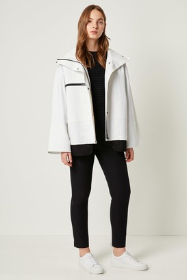 French Connenction Betti Technical High Neck Jacket