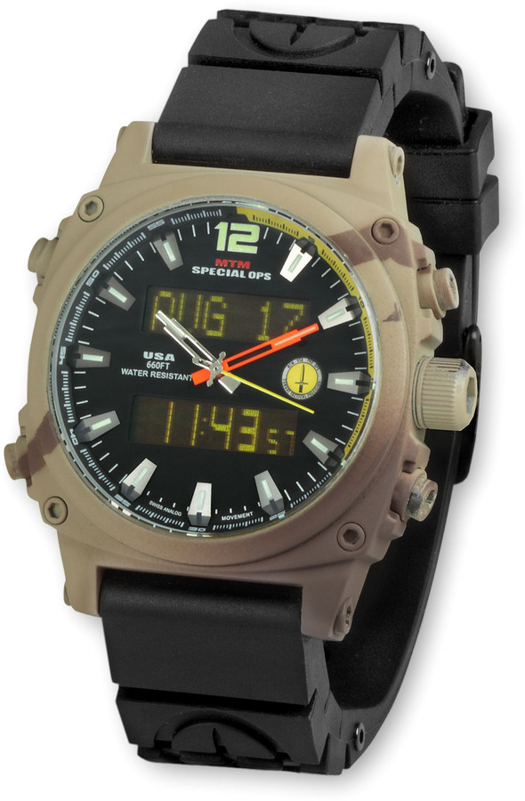 Camo MTM Special Ops Watch Air Stryk 2 Military Watch