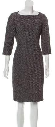 Michael Kors Textured Sheath Dress