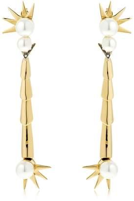 Schield Scorpion Cyborg Earrings