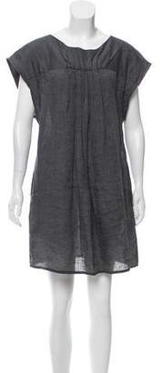 Ulla Johnson Sleeveless Pleat Accented Dress