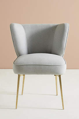 Anthropologie Performance Wool Clemence Dining Chair