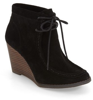 Women's Lucky Brand 'Ysabel' Wedge Chukka Boot $128.95 thestylecure.com