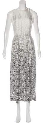 Band Of Outsiders Silk Printed Dress