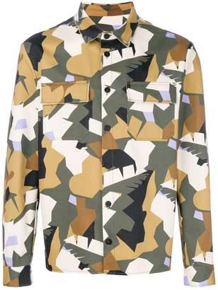 MSGM designer print jacket