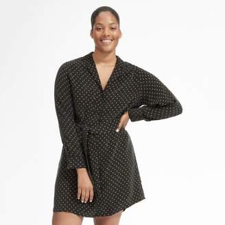 Everlane The Polka Dot Shirt Dress