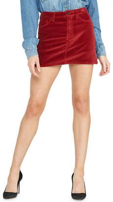 Hudson Viper Studded Velvet Mini Skirt