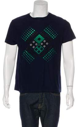 Christopher Kane Woven Graphic T-shirt