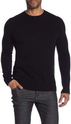 Belstaff Lanson Crew Neck Wool & Cashmere Blend Knit Sweater