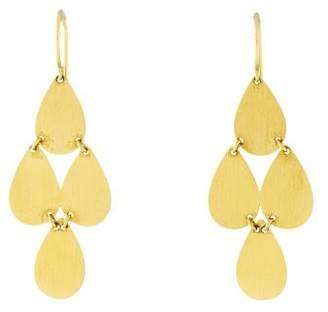 Irene Neuwirth 18K Teardrop Chandelier Earrings