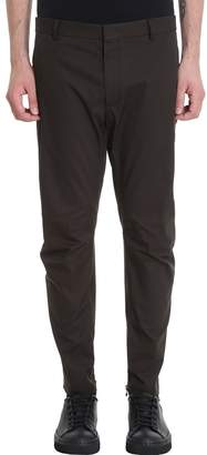 Lanvin Khaky Cotton Pants