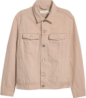 H&M Denim Jacket - Beige