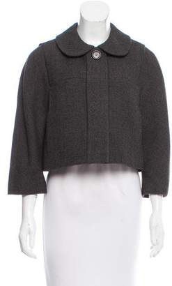 Chloé Cropped Wool Jacket