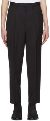 Kenzo Black Limited Edition Wool Travel Trousers