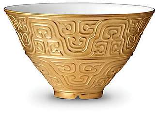 L'OBJET Han Porcelain and 24k Gold Soup Bowl