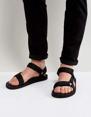 Teva Original Universal urban tech sandals in black