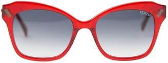 Kenzo Red Plastic Sunglasses