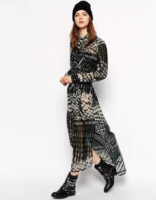 Religion Printed Maxi Dress