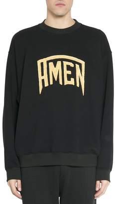 Amen Logo Cotton Sweatshirt