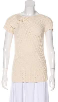 Oscar de la Renta Cashmere Lightweight Sweater