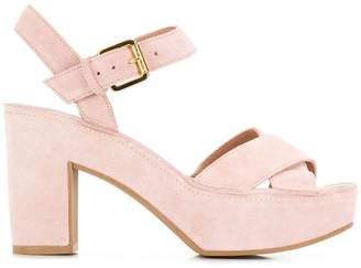 L'Autre Chose block heel sandals