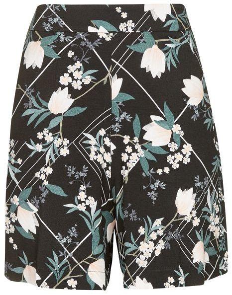 TopshopTopshop Mix blossom shorts
