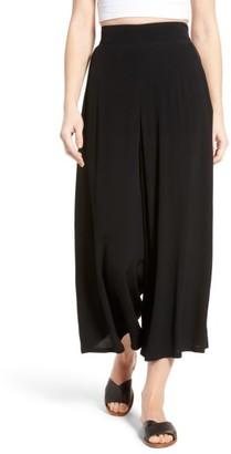 Women's Leith High Waist Crop Wide Leg Pants $59 thestylecure.com