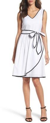Women's Ellen Tracy Fit & Flare Dress $128 thestylecure.com