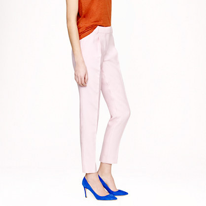 J.Crew Collection pleated wool-silk pant