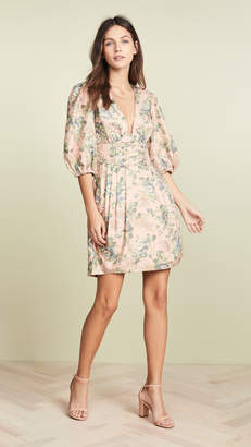 Zimmermann Tempest Lace Up Dress