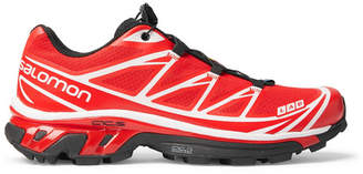 Salomon S/lab Xt-6 Softground Adv Running Sneakers - Red