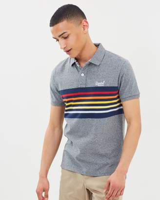 Superdry Classic Cali SS Banner Polo