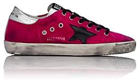 Golden Goose Women's Superstar Velvet Sneakers - Pink