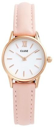 Women's Cluse La Vedette Leather Strap Watch, 24Mm $99 thestylecure.com