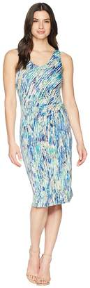 Nic+Zoe Mirage Twist Dress Women's Dress