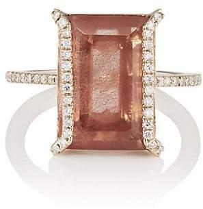 Monique Péan Women's Sunstone & White Diamond Ring