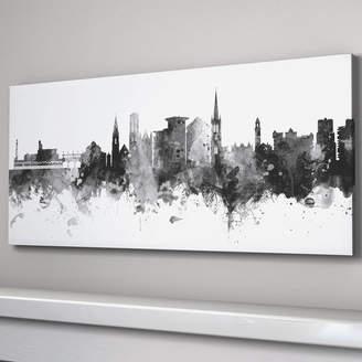 artPause Bournemouth City Skyline Black And White