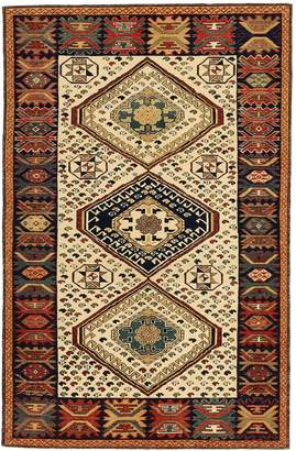 "Fly London ABC Home Woven Legends Turkish Shirvan Rug - 4'1""x6'4"""