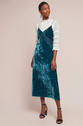 Beatrice. B Velvet Slip Dress