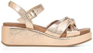 Sam Edelman Stephanie Metallic Wedge Sandals