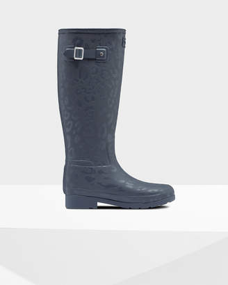 Hunter Women's Refined Insulated Slim Fit Tall Rain Boots