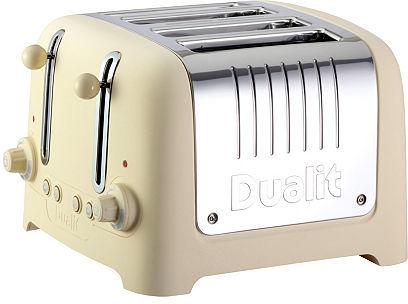 4-Slice Wide Toaster, Cream
