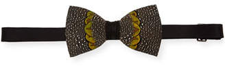 Brackish Bowties Arroyo Feather Formal Bow Tie
